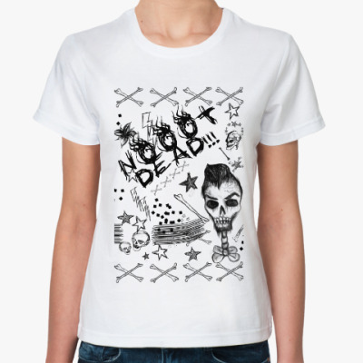 Классическая футболка Be grunge!