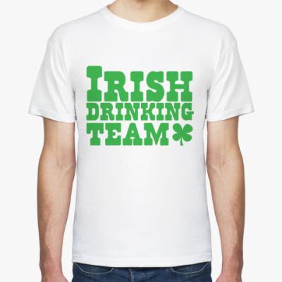 Футболка Ирландская команда по выпивке