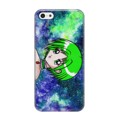 Чехол для iPhone 5/5s Space Anime Girl