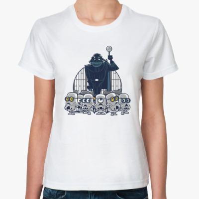 Классическая футболка Darth Vader & Minions
