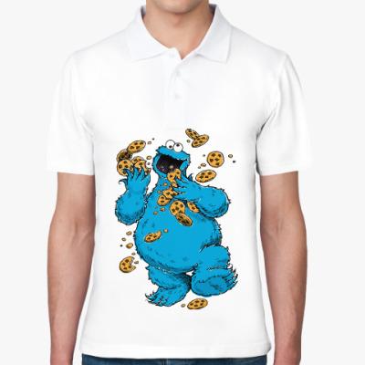 Рубашка поло Cookie Monster