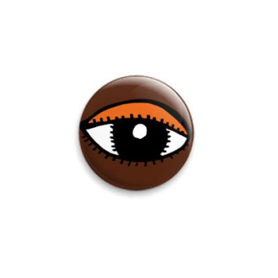 Значок 25мм  «Глаз»