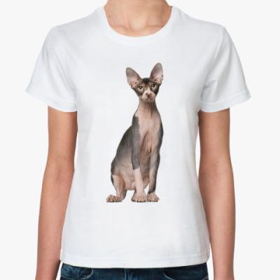 Классическая футболка Кот
