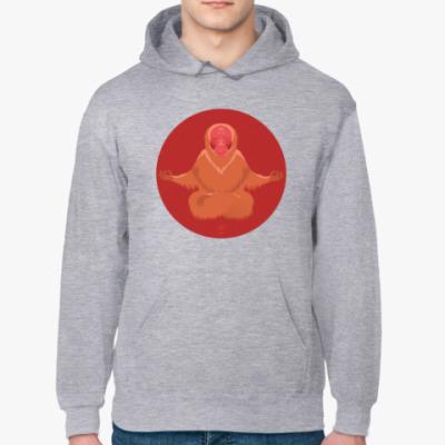 Толстовка худи Animal Zen: U is for Uakari