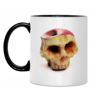 Кружка Яблочный череп
