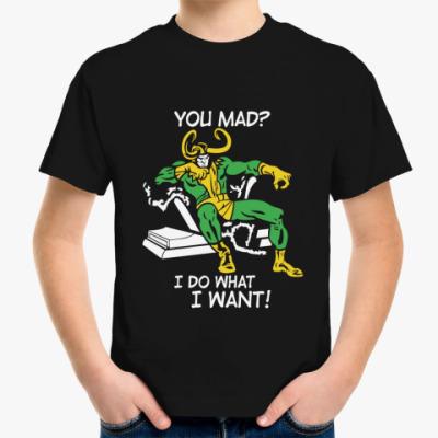 Детская футболка  Том Хиддлстон