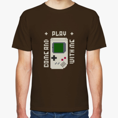 Футболка Pixel Gameboy