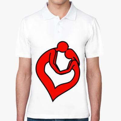Рубашка поло Влюбленная пара