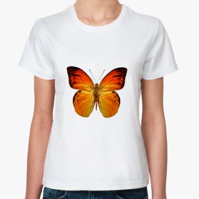 Классическая футболка Бабочка ORANGE