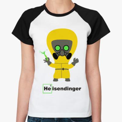 Женская футболка реглан Heisendinger