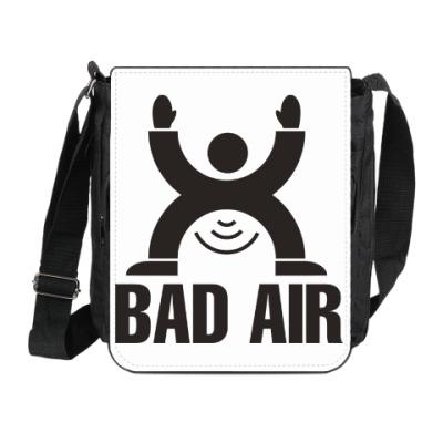 Сумка на плечо (мини-планшет) Плохой воздух