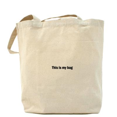Сумка This is my bag