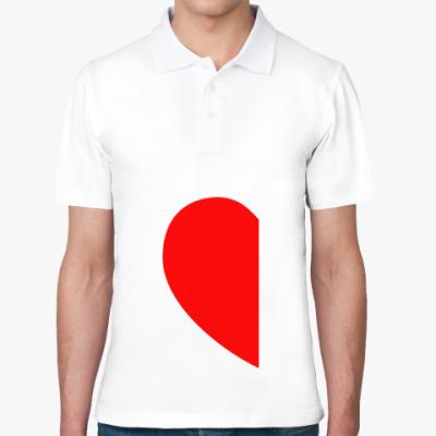 Рубашка поло Половинка сердца