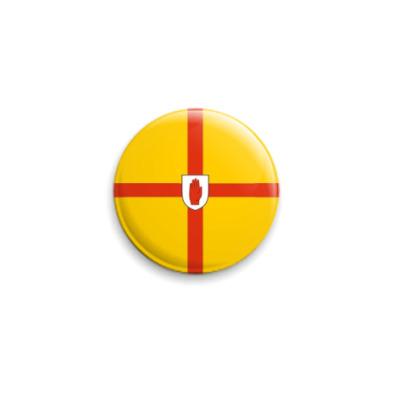 Значок 25мм  'Флаг Ольстера'