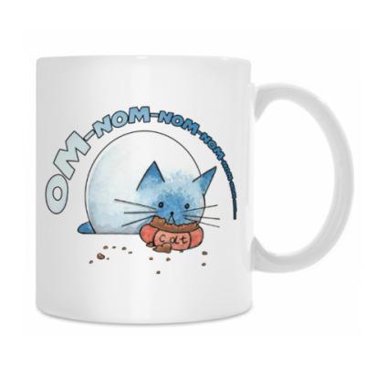 Ом-ном-ном-ном кот