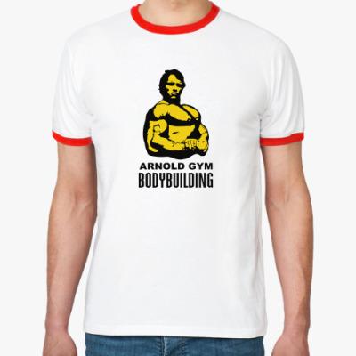 Футболка Ringer-T Arnold - Bodybuilding