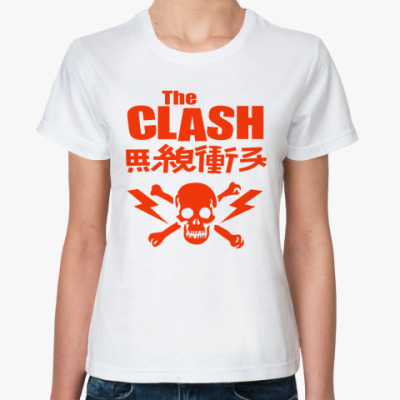 Классическая футболка The Clash