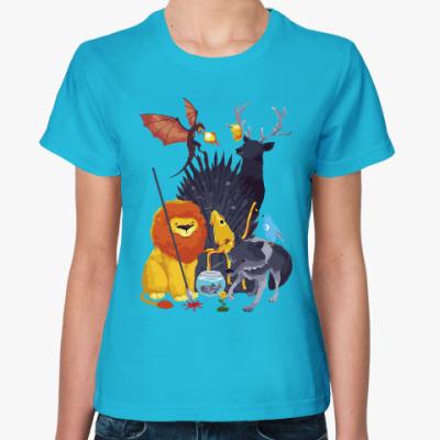 Женская футболка Добрая Игра престолов