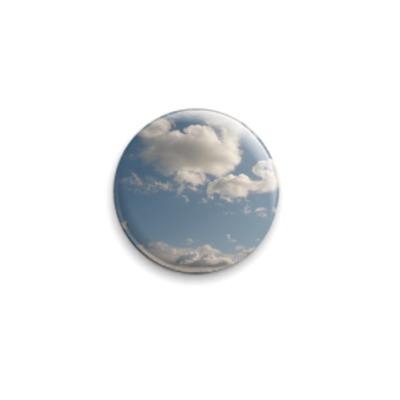 Значок 25мм Небо