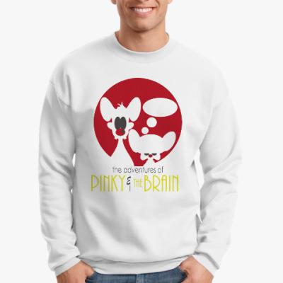 Свитшот Приключения Пинки и Брэйна