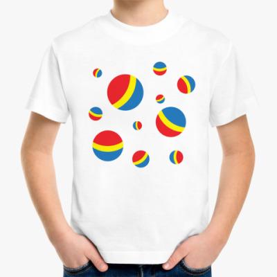 Детская футболка Мячи