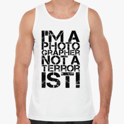 Майка Я фотограф а не террорист