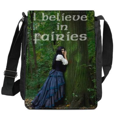 Сумка-планшет I believe in fairies