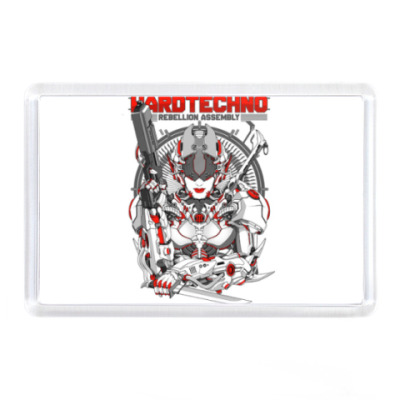 Магнит Hard techno
