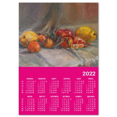 Календарь 'Зимний натюрморт'