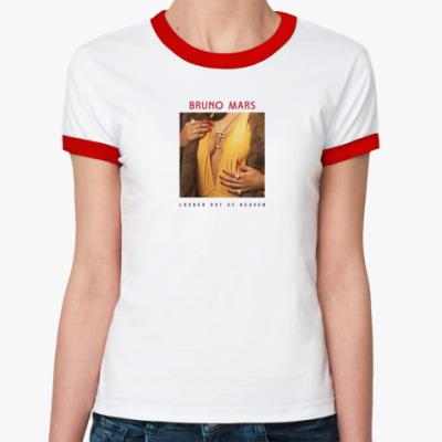Женская футболка Ringer-T 'LOOH'