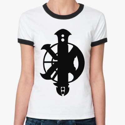Женская футболка Ringer-T Killah Priest