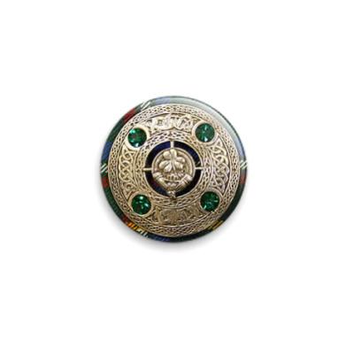 Значок 25мм  'Irish Brooch'