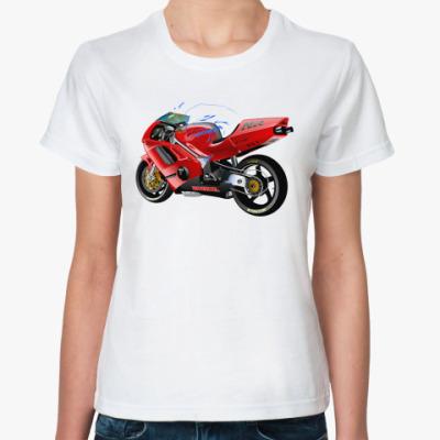 Классическая футболка Honda