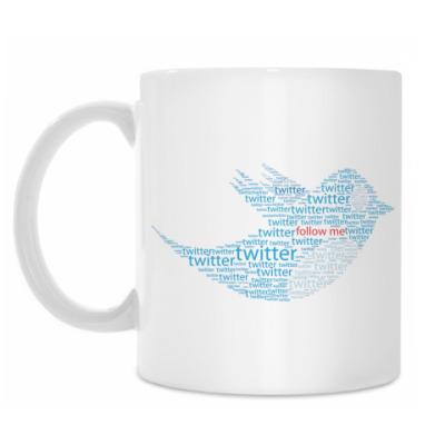 Кружка Twitter Words