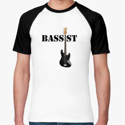 Футболка реглан  Bassist