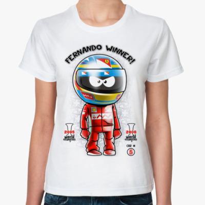 Классическая футболка Fernando #5  '12