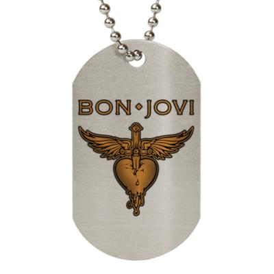 Жетон dog-tag Bon Jovi