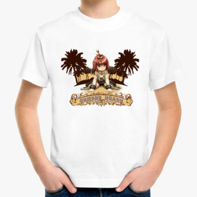 Детская футболка Comodo beach