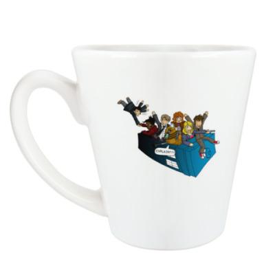 Чашка Латте Doctor Who