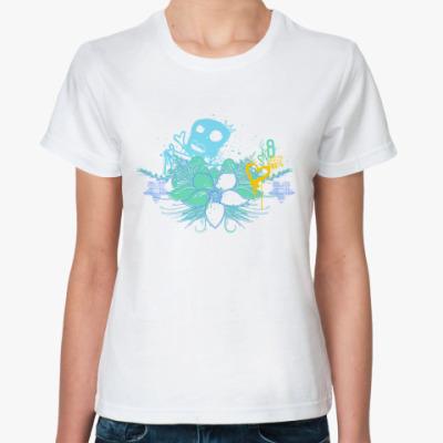 Классическая футболка Королева скейта