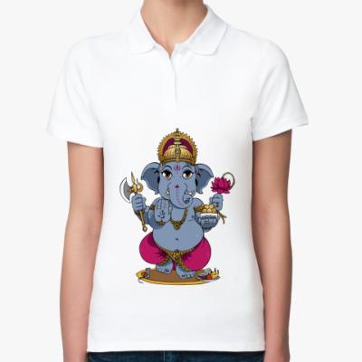 Женская рубашка поло Ganesha