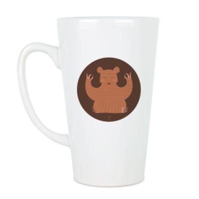 Чашка Латте Animal Zen: B is for Bear