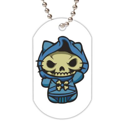 Жетон dog-tag Kitty Скелетор