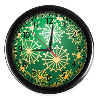Настенные часы Новогодний шар