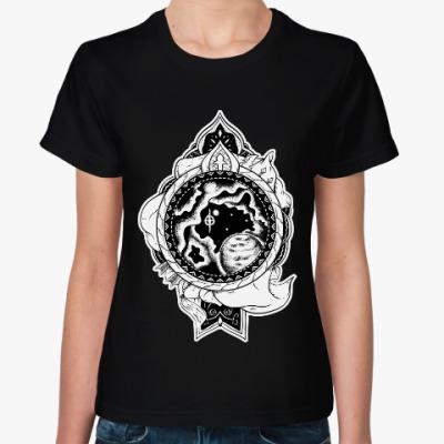 Женская футболка Астральный щит