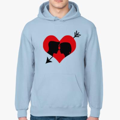 Толстовка худи Сердце хочет любви