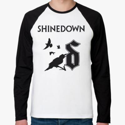 Футболка реглан с длинным рукавом Shinedown