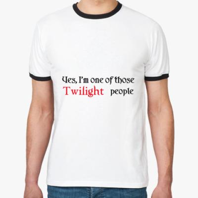 Футболка Ringer-T  Twilight people
