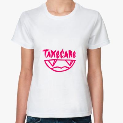 Классическая футболка TAKECARE