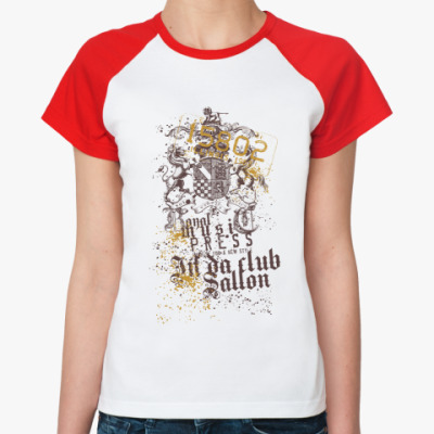 Женская футболка реглан illinois